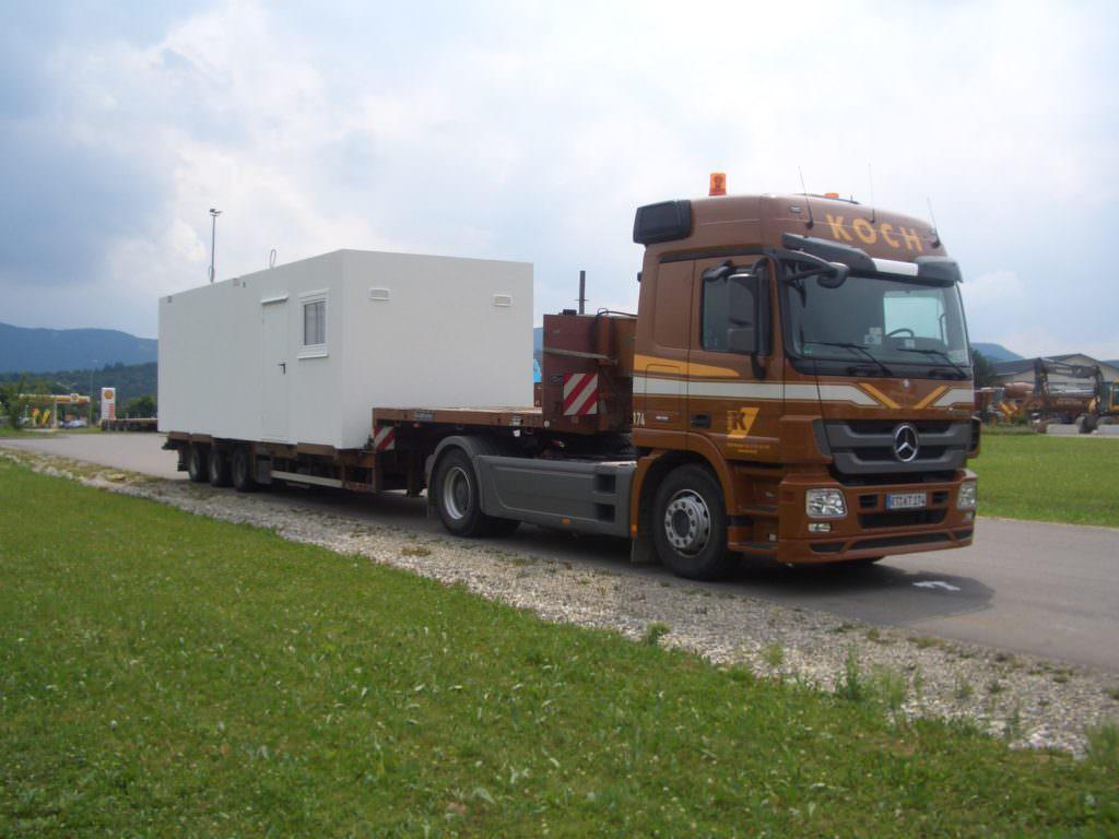 Betonfertigteiltransporte koch kieswerk transporte for Koch transporte