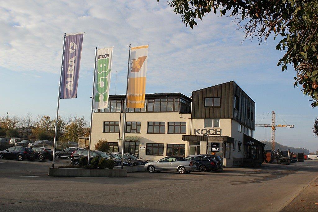 Metzingen koch kieswerk transporte for Koch transporte